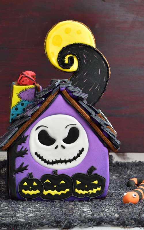 nightmare before christmas, jack skellington, gingerbread