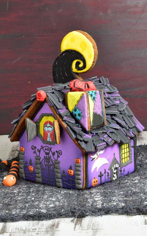 Nightmare Before Christmas Houses.Nightmare Before Christmas Gingerbread House Haniela S