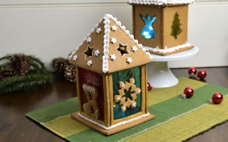 Gingerbread Lantern for Christmas