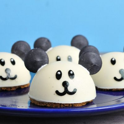 cheesecake, panda, banana cheesecake