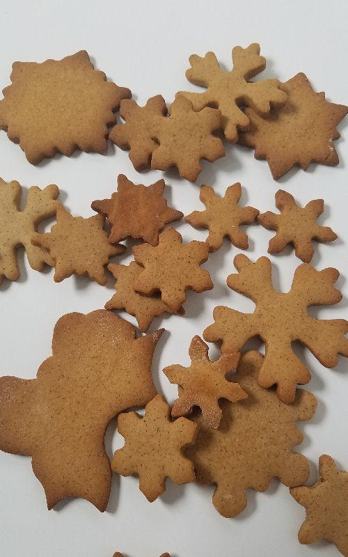 snowflakes, cookies