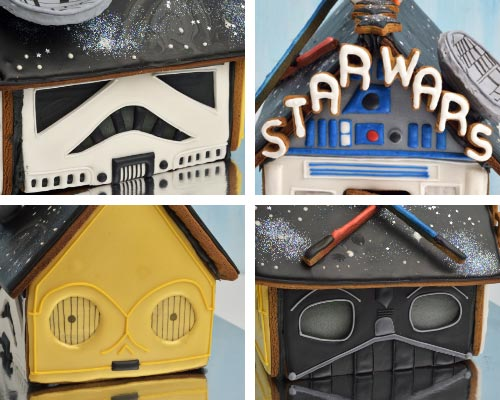 Star Wars Gingerbread House.