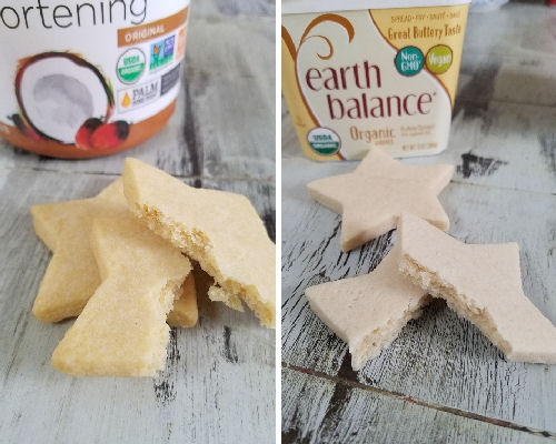 Star shaped cookies.