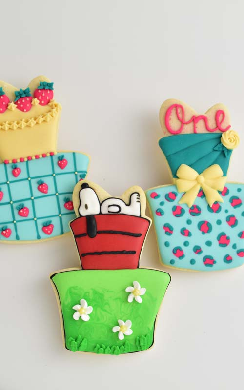 how to decorate cake cookies