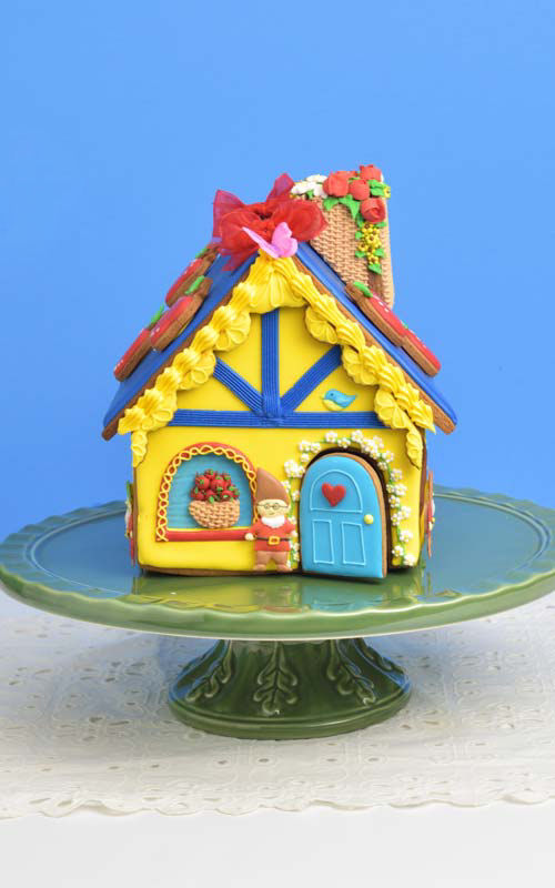 snow white gingerbread house