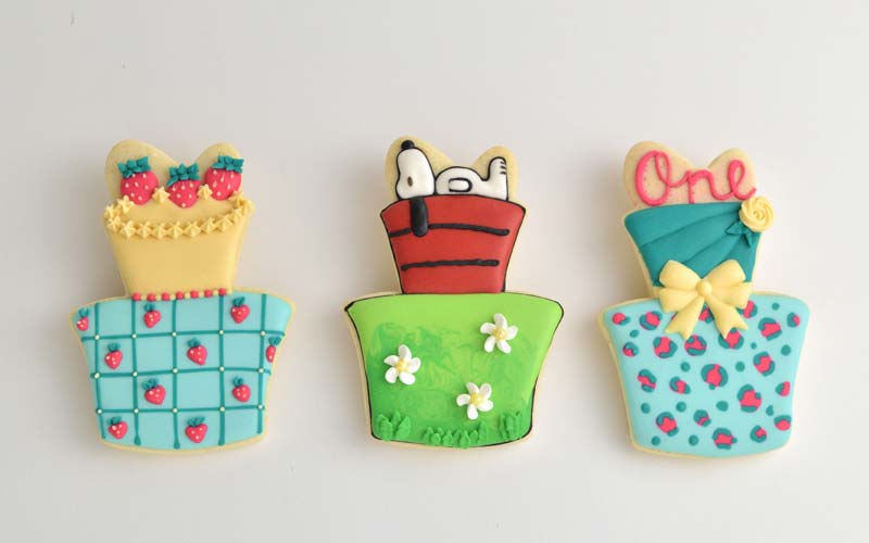 how to make snoopy cookies