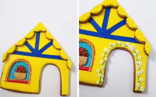 how to build a gingerbread house