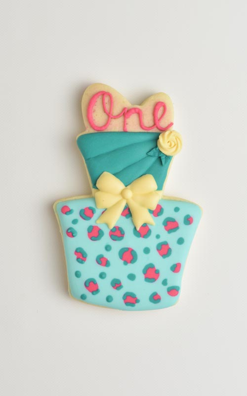 how to make royal icing leopard pattern