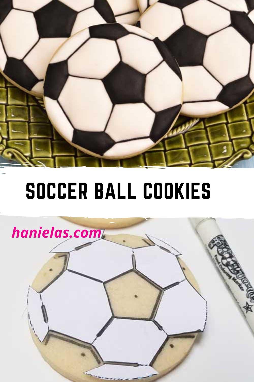Soccer Ball Cookies [Template]
