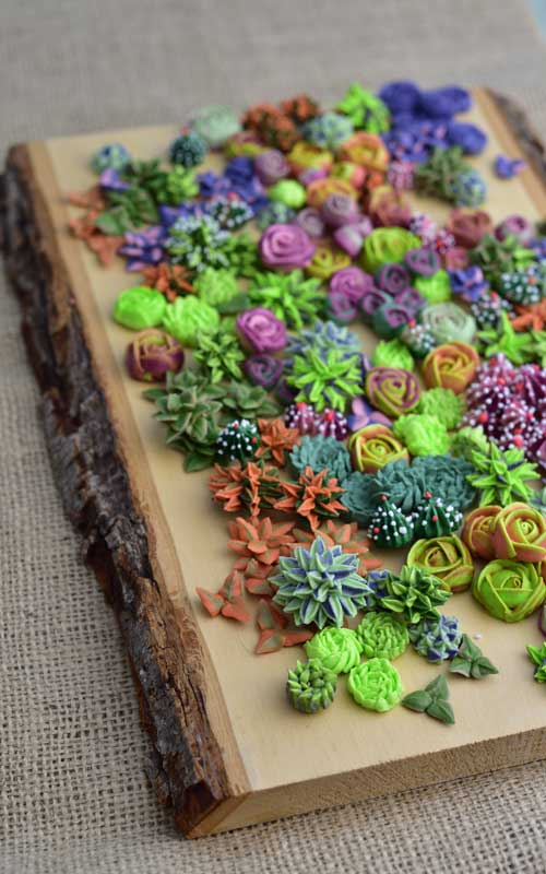 how to pipe beautiful royal icing succulents