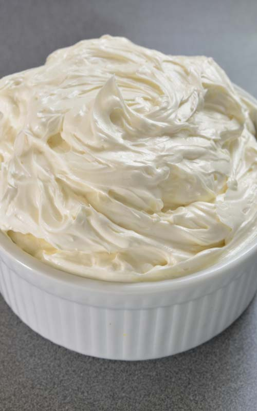 swiss meringue buttercream in a bowl