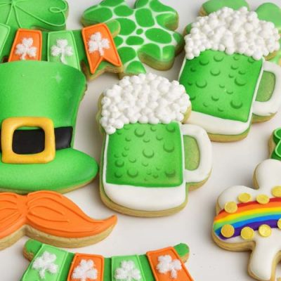 Saint Patrick's Day Green Beer Cookies