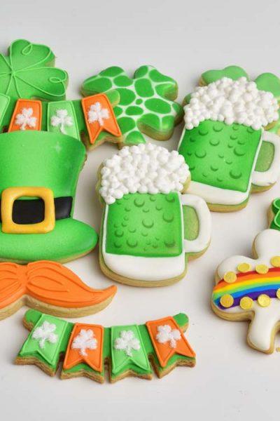 Saint Patrick's Day Green Beer Cookies