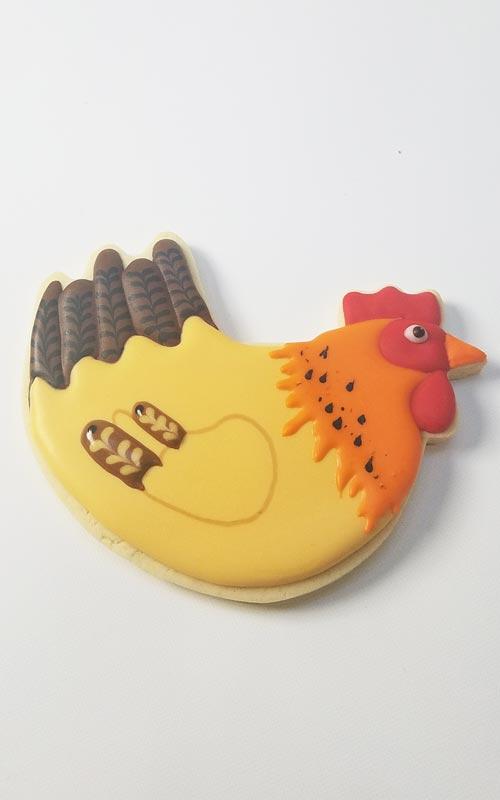 How to make Hen Cookies
