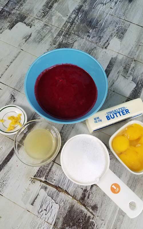 learn how to make raspberry curd
