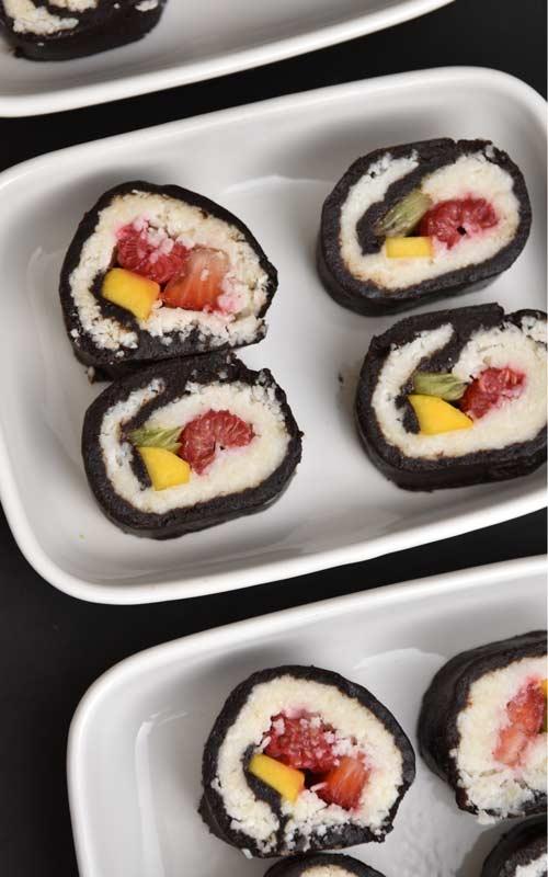 Make Dessert Sushi