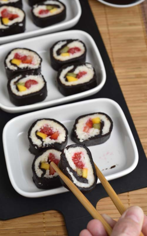 How to make Chocolate Sushi