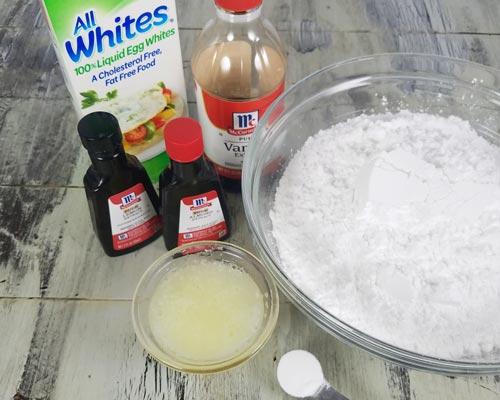 Royal Icing [Fresh Eggs, Meringue|Liquid Egg Whites Recipes