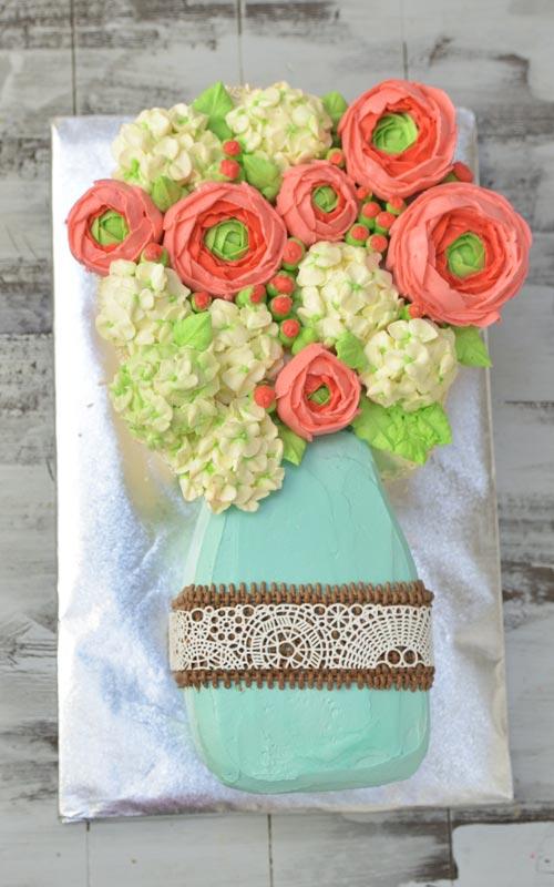 buttercream hydrangea flowers