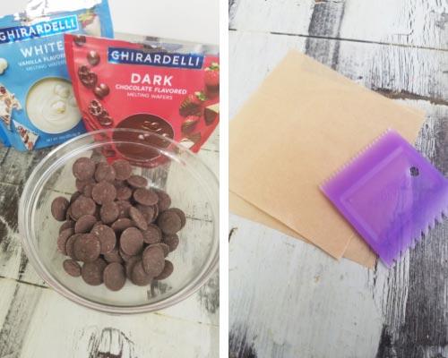 Ghirardelli Chocolate Disks.