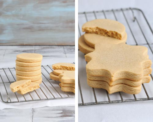 cut out peanut butter cookies