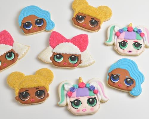 Doll Sugar Cookies