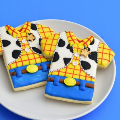 Pleasant Woody Toy Story Cookies Hanielas Recipes Cookie Cake Personalised Birthday Cards Fashionlily Jamesorg
