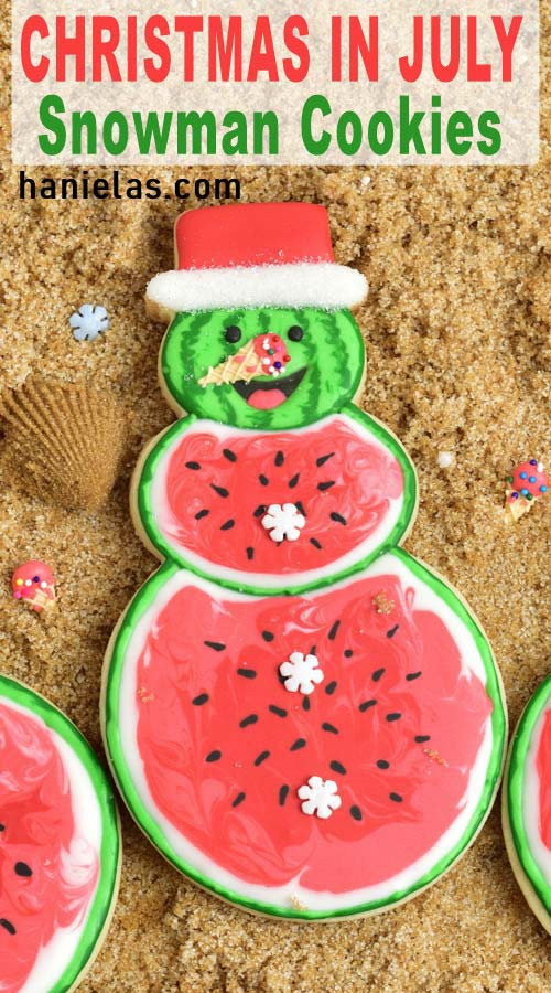 Christmas In July Ideas.Christmas In July Cookies Haniela S