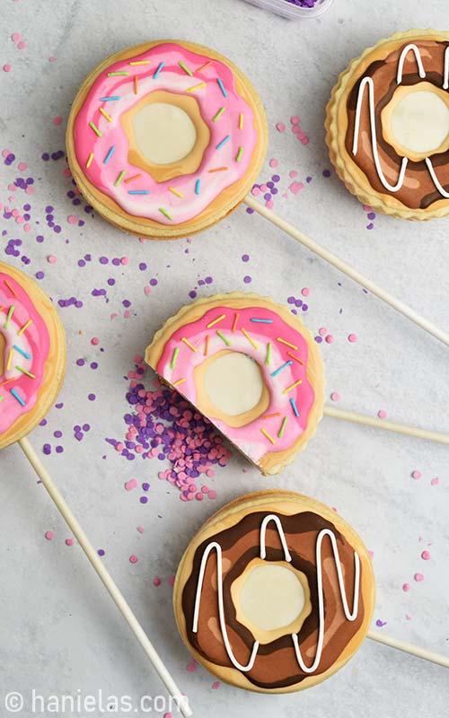 Donut Pinata Cookies
